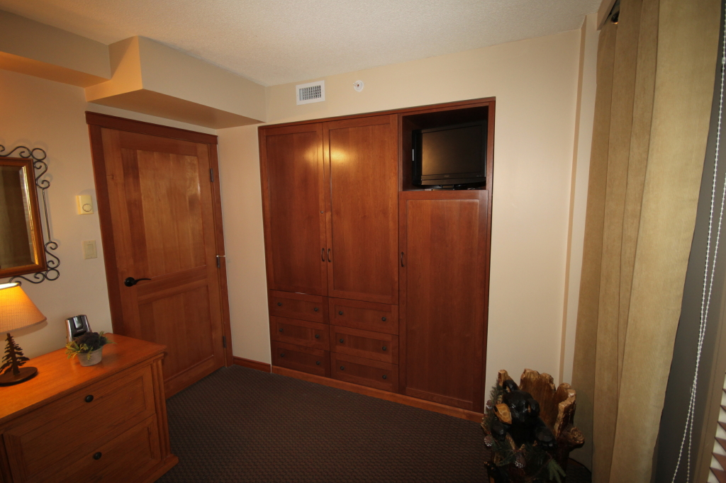 Whistler Accommodations - Second bedroom built-in closet  - Rentals By Owner