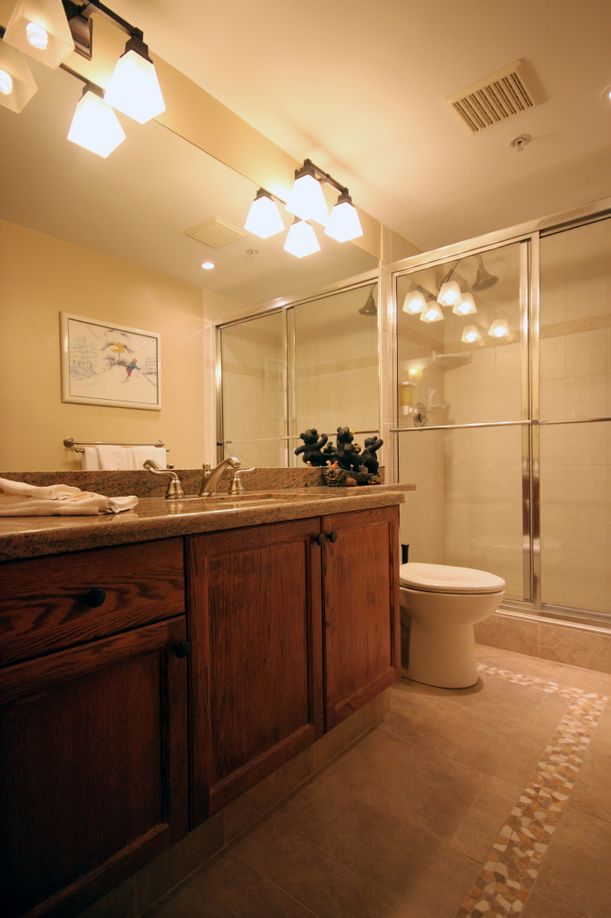 Whistler Accommodations - Main bathroom - Rentals By Owner