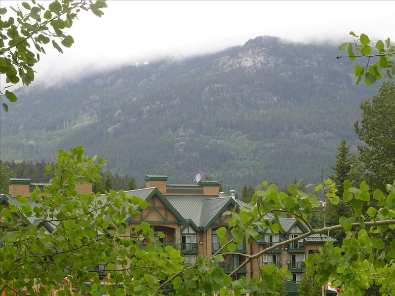 Whistler Accommodations - View of Rainbow Mountain from the condo - Rentals By Owner