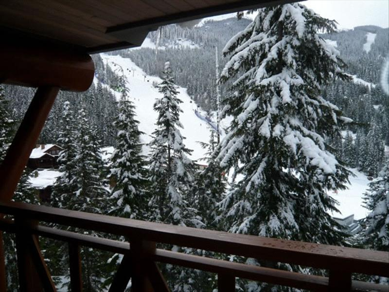 Whistler Accommodations - Taluswood Heights View from Deck - Rentals By Owner