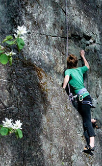 Whistler Rock Climbing - BC Canada - Whistler Blackcomb Resort Rock Climbing Information