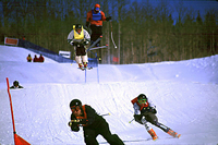 Whistler Ski School - Adult Skiercross Camps - Whistler Blackcomb Resort BC Canada