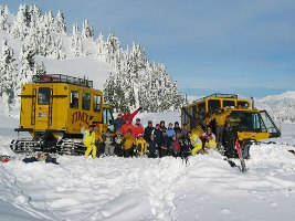 Whistler Snowcat Tours - BC Canada - Whistler Blackcomb Resort Snow Cat Tour Information