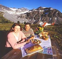 Whistler Helicopter Picnic - BC Canada - Whistler Blackcomb Resort Heli Tour Information