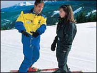 Whistler Ski School - Adult Private Ski Lessons - Whistler Blackcomb Resort BC Canada